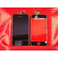 LCD SCHERMO DISPLAY E TOUCH SCREEN APPLE IPHONE 4 NERO BLACK