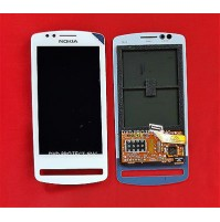 LCD SCHERMO DISPLAY E TOUCH SCREEN NOKIA LUMIA 700 BIANCO WHITE