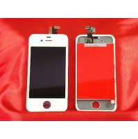 LCD SCHERMO DISPLAY FRAME E TOUCH SCREEN APPLE IPHONE 4S BIANCO WHITE