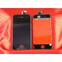 LCD SCHERMO DISPLAY FRAME E TOUCH SCREEN APPLE IPHONE 4S NERO BLACK