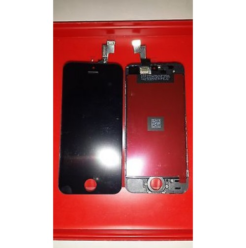 LCD SCHERMO DISPLAY FRAME E TOUCH SCREEN APPLE IPHONE 5S NERO BLACK