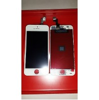 LCD SCHERMO DISPLAY FRAME E TOUCH SCREEN APPLE IPHONE 5S WHITE BIANCO