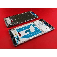 MIDDLE COVER CENTRALE FRAME CORNICE LCD HUAWEI ASCEND P9 LITE NERO