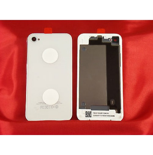 REAR COVER POSTERIORE APPLE IPHONE 4 BIANCO WHITE