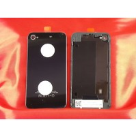 REAR COVER POSTERIORE APPLE IPHONE 4 NERO BLACK