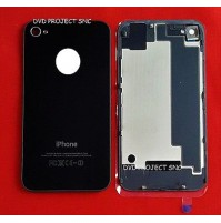 REAR COVER POSTERIORE APPLE IPHONE 4S NERO BLACK