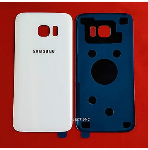 REAR COVER SCOCCA POSTERIORE SAMSUNG GALAXY S7 EDGE SM-G935F G935 BIANCO WHITE